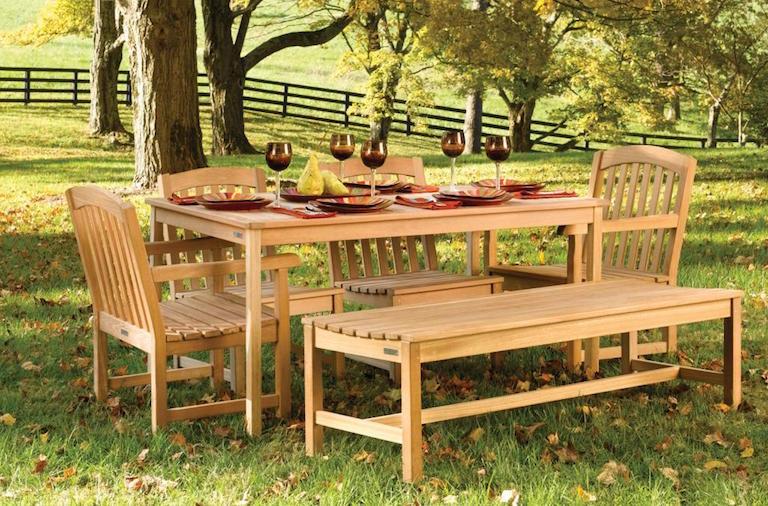 Resin Patio Dining Set