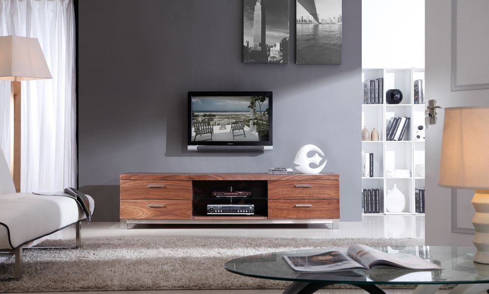 Todayu0027s High Tech Televisions Deserve Modern TV Tables