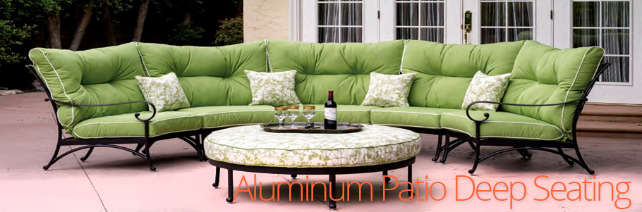 Aluminum Patio Deep Seating