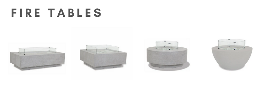 Fire Tables and Tank Covers