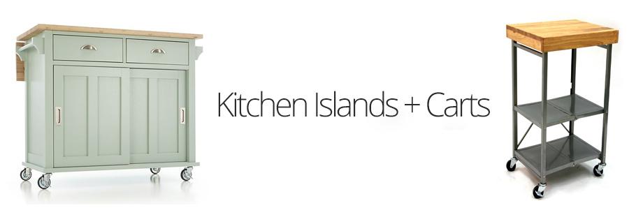 Kitchen Islands + Carts