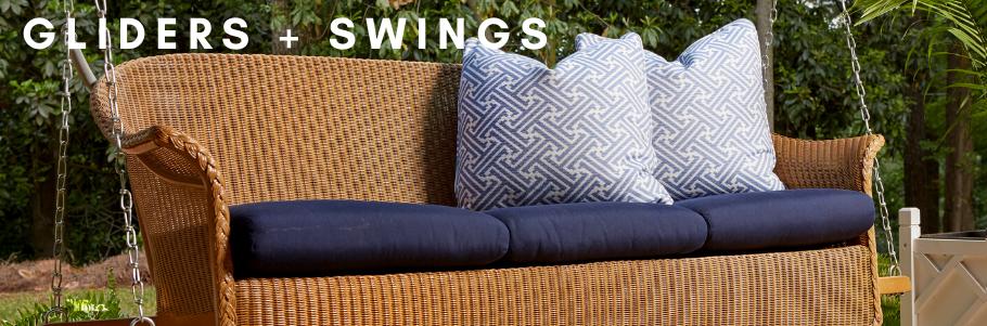 Gliders + Swings