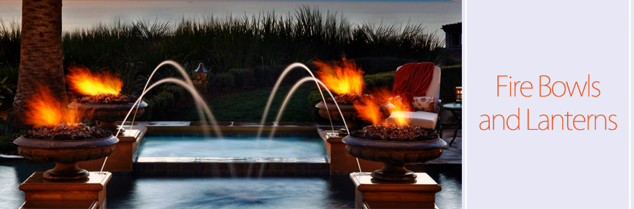 Fire Bowls and Lanterns