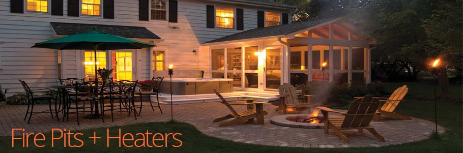 Fire Pits + Heaters
