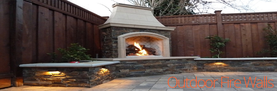 Outdoor Fire Walls