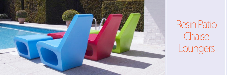 Resin Patio Chaise Loungers