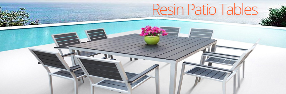 Resin Patio Tables