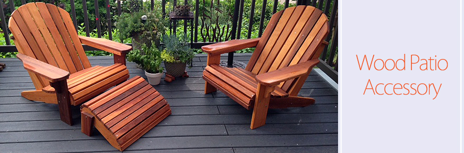 Wood Patio Accessories