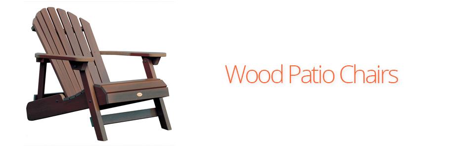 Wood Patio Chairs