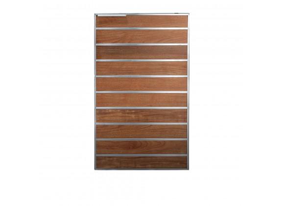 "Summerset Grills Madera 20x34"" Teak Vertical Dry Storage Pantry - Front"