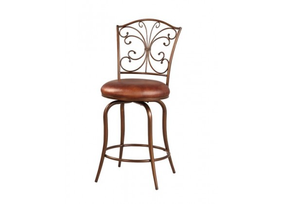 Linon Butterfly Back Counter Stool