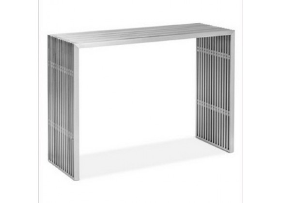 Zuo Modern Novel Console Table Stainless Steel