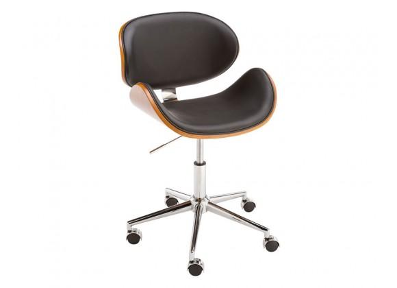 SUNPAN Quinn Office Chair - Onyx, Frontview