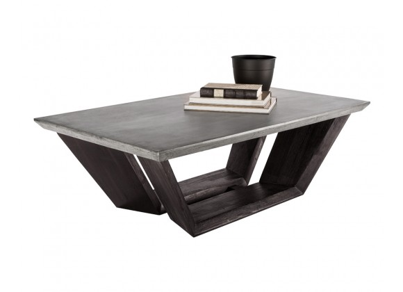 Sunpan Langley Coffee Table - With Decor