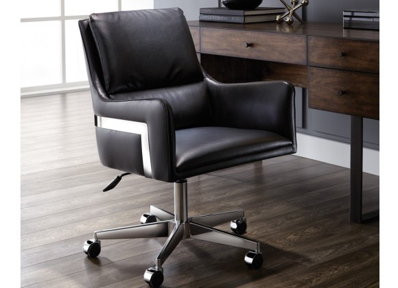Sunpan Torres Office Chair - Black - Lifestyle