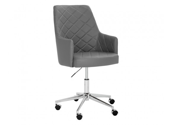 Chase Office Chair - Graphite - Angled View