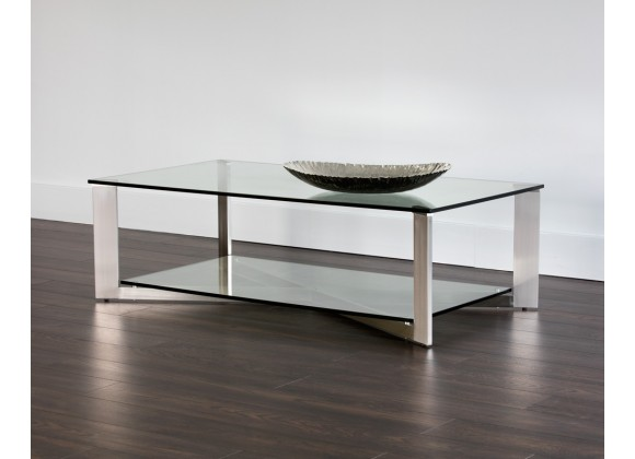 Sunpan Xavier Coffee Table - Rectangular - Lifestyle