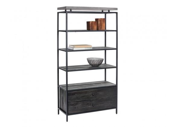 Sunpan Norwood Bookcase - Angled