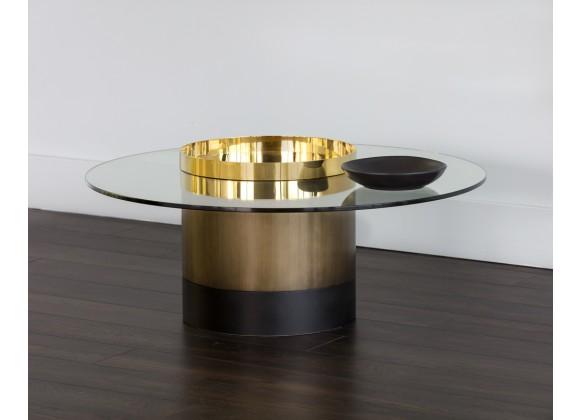 Sunpan Haru Coffee Table - Lifestyle