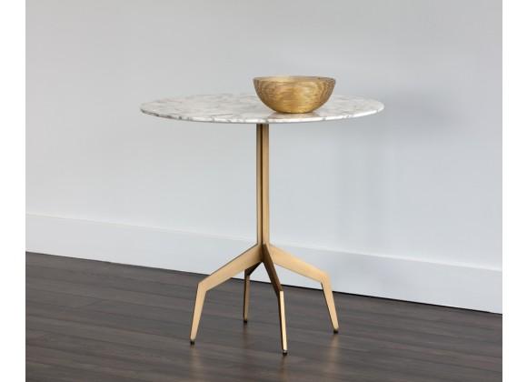 "Sunpan Richart Bistro Table - 31.5"" - Lifestyle"