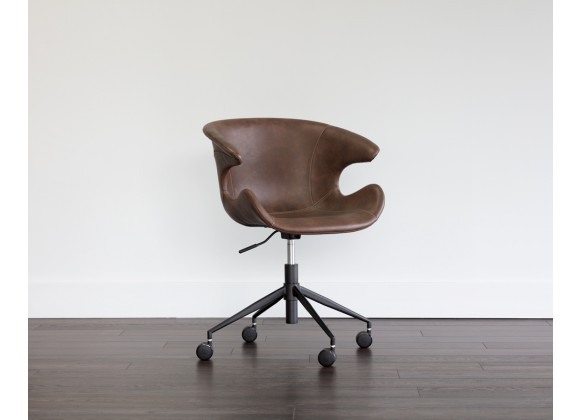 Kash Office Chair - Hearthstone Brown - Lifestyle