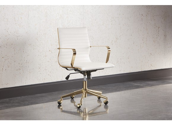Jessica Office Chair - White - Lifestyle