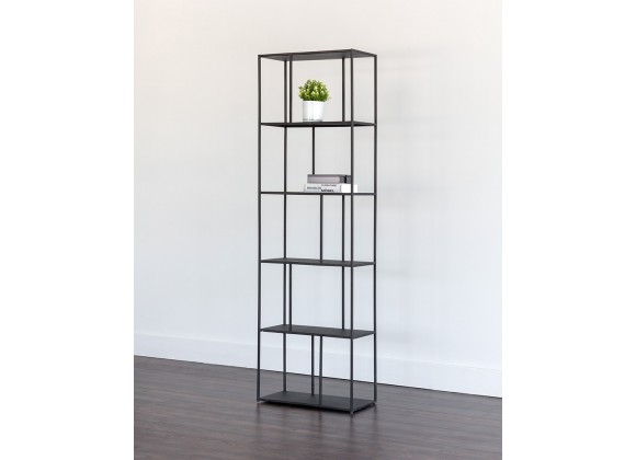 Eiffel Bookcase - Small - Black - Lifestyle
