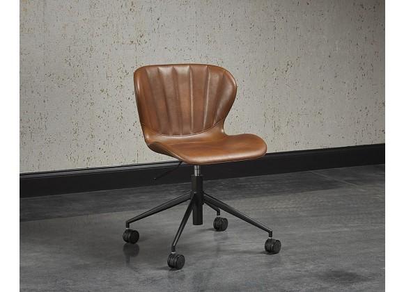 Arabella Office Chair - Bravo Cognac/Bravo Portabella, Lifestyle