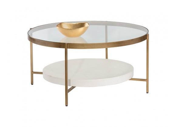 Sunpan Gia Coffee Table - With Decor