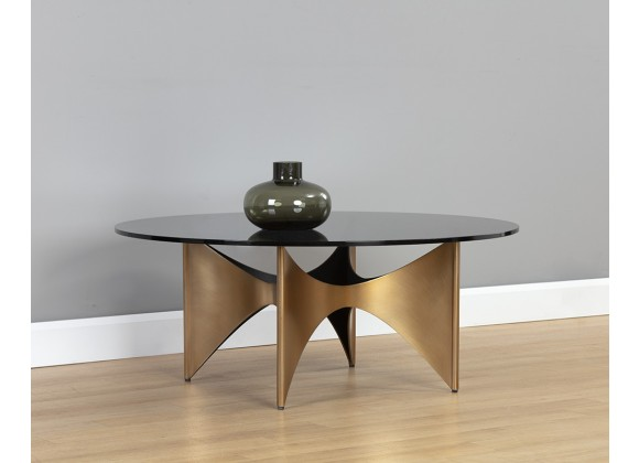 Sunpan London Coffee Table - Lifestyle