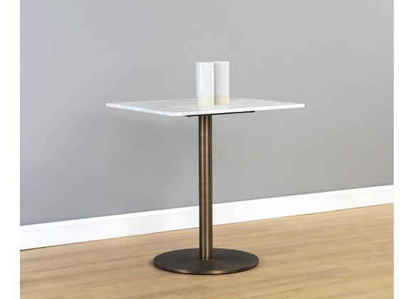"Sunpan Enco Bistro Table - Square - 24"" - Lifestyle"
