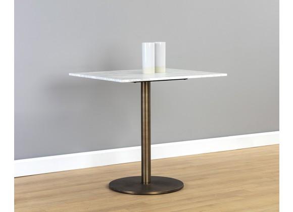 "Sunpan Enco Bistro Table - Square - 30"" - Lifestyle"