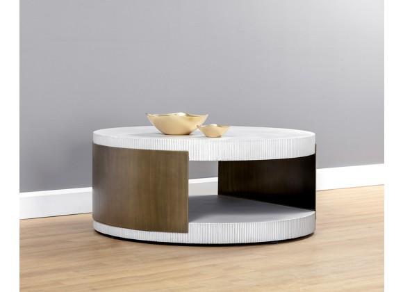 Sunpan Cavette Coffee Table - Lifestyle