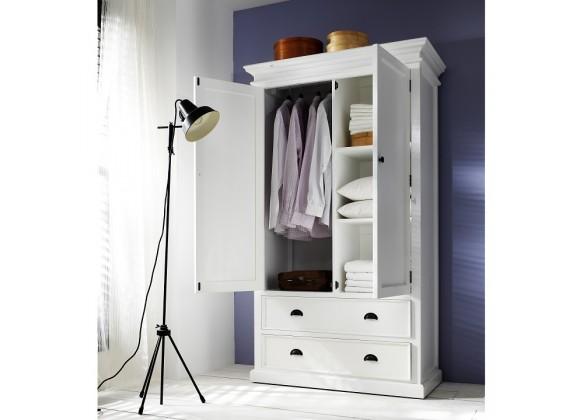 Novo Solo HALIFAX Wardrobe w/ 2 bottom drawers - Lifestyle