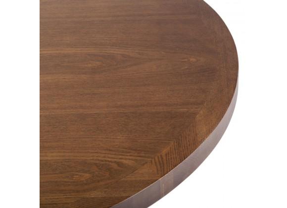 Veneer Table Top - Round - Autumn Ash