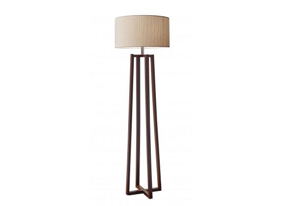 Quinn Floor Lamp - Walnut