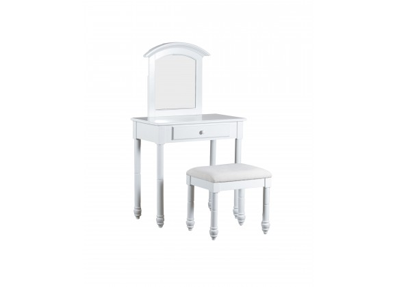 Whitehust Vanity with Stool