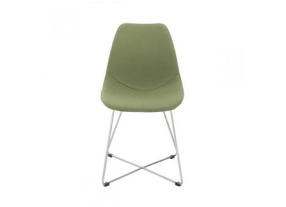 EuroStyle Anahita Side Chair - (Set of 4) Saffron or Green