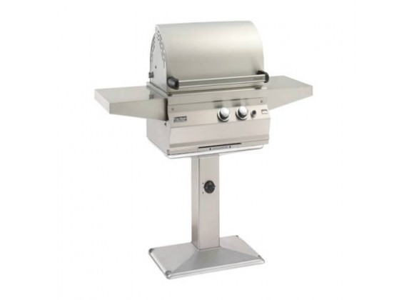 Fire Magic Legacy Deluxe Stainless Steel Patio Post Mount Grill