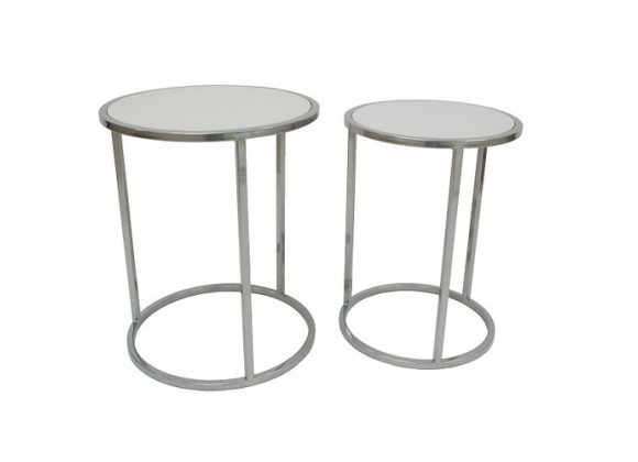 Allan Copley Designs Set of 2 Chase Tables