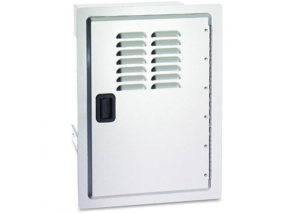 Fire Magic Legacy Single Access Door w Tank Tray and Louvers