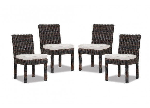 Montecito Armless Dining Chair - set of 4