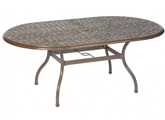 "Meadow Decor 2700 Series 72"" Oval Dining Table"
