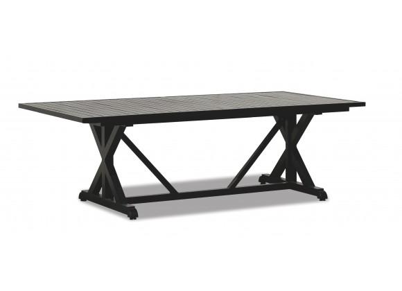 "Sunset West Monterey Aluminum 96"" Dining Table"