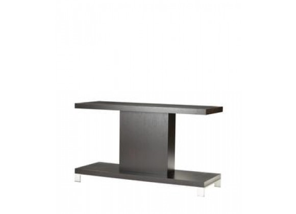 Allan Copley Designs Force Rectangle Console Table in Mocha on Oak Finish
