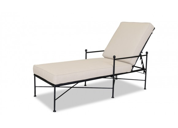 Sunset West Provence Aluminum Chaise Lounge With Cushions