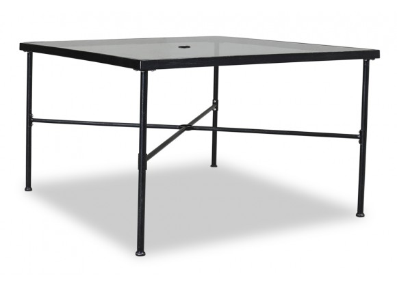 "Sunset West Provence Aluminum 44"" Dining Table"