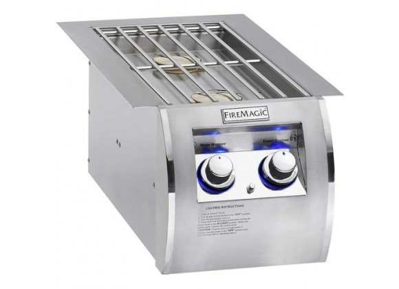 Fire Magic Echelon Diamond Built-In Side Burner
