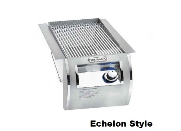 Fire Magic Echelon Diamond Built-In Searing Station w/ Side Burner