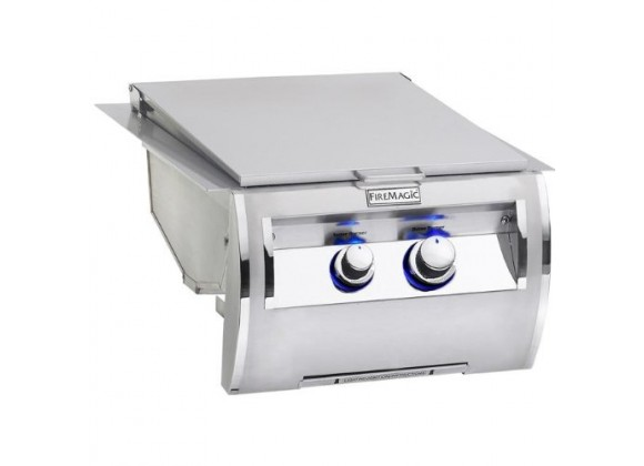 Fire Magic Echelon Diamond Built-In Double Searing Station w/ Side Burner and Power Supply